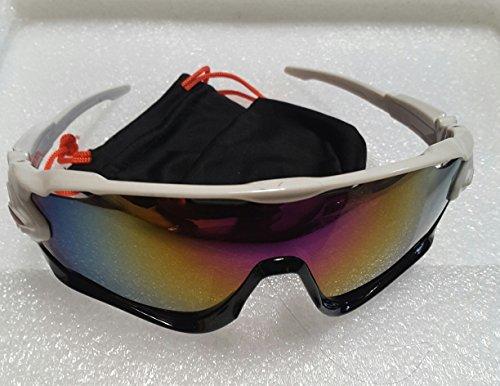 K-D cycling glasses Jawb Polarized - - K White Sunglasses
