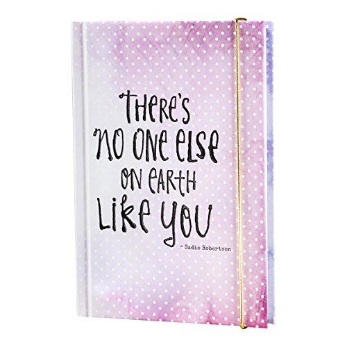 DaySpring Sadie Robertson's Banded Hardcover Journal Diary Notebook,