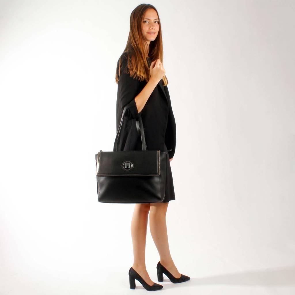 Roccobarocco Handtaschen Damen, Farbe Schwarz, Marke, Modell Modell Modell Handtaschen Damen BRACHETTO Schwarz 35fab3