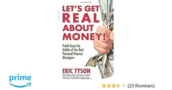 let s get real about money eric tyson 9780132341615 amazon com