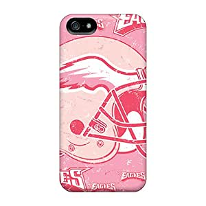 Best-phone-covers Iphone 5/5s Scratch Resistant Hard Cell-phone Cases Custom Lifelike Philadelphia Eagles Image [Sry7520epol]