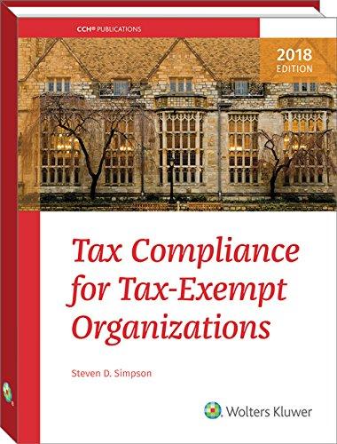 Tax Compliance For Tax Exempt Organizations  2018