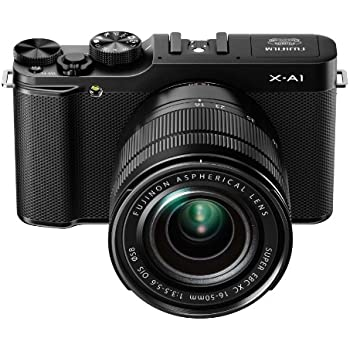 Fujifilm X-A1 Kit with 16-50mm Lens (Black)