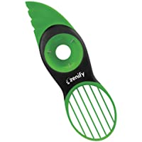 Zenify Avocado Slicer Tool Cleaver Kitchen 3 in 1 Splitter Pitter and Cutter with Comfort Scoop Handle