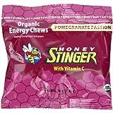 Honey Stinger Organic Energy Chews, Pomegranate Passion Fruit, 1.8 Ounce (Pack of 12)