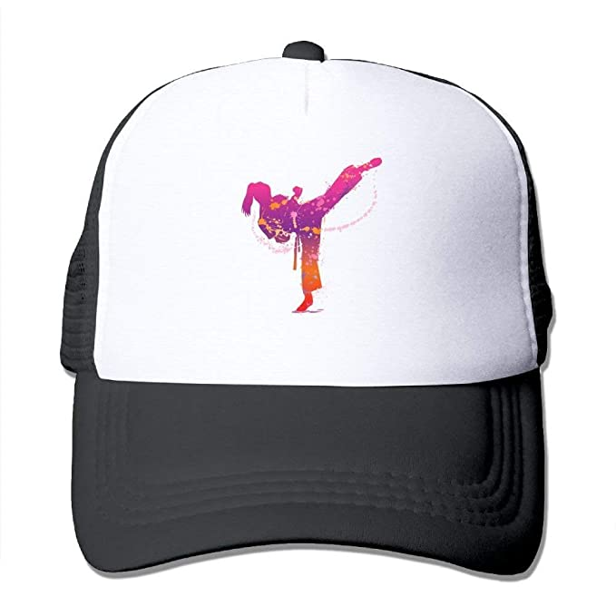 Huabuqi Papá Gorras de béisbol Ajustables Unisex de Las Gorras de Camionero de la Muchacha del Karate: Amazon.es: Ropa y accesorios