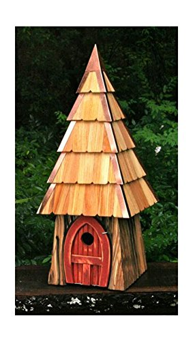 Heartwood 195C Lord of the Wing Bird House Redwood Finish (Birdhouse Cypress Redwood)