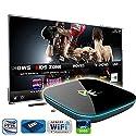 Pigflytech PF Q Android TV Streaming Media Mini PC Quad Core/2GB/16GB/4K/S912 Mini PC & Game Player