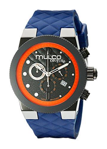 MULCO Men's MW5-2552-304 Couture Analog Display Swiss Quartz Blue Watch