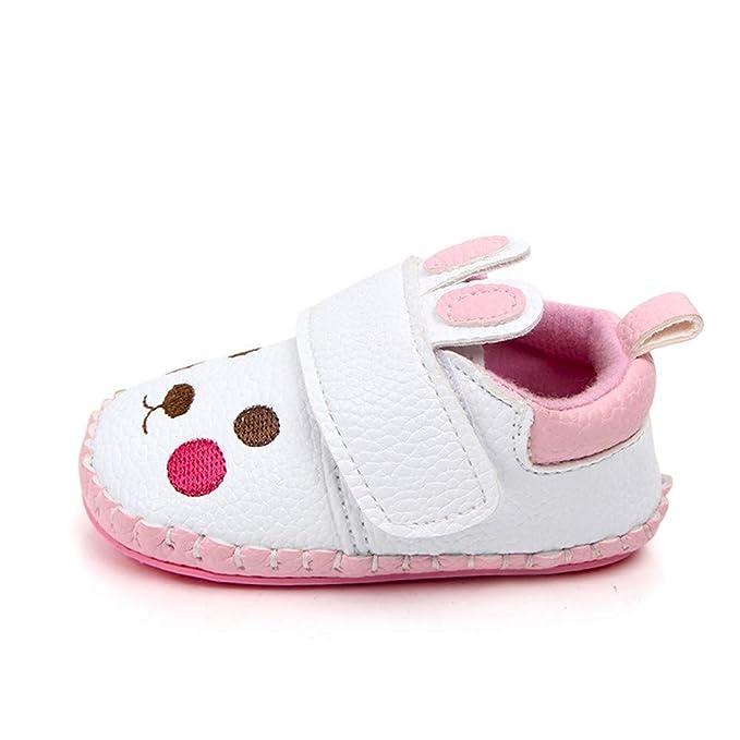 ❤ Dibujos Animados de Zapatos de Conejo para el otoño recién Nacido,Zapatos Ocasionales de Suela Blanda para el oído Lindo bebé Infantil Absolute: ...