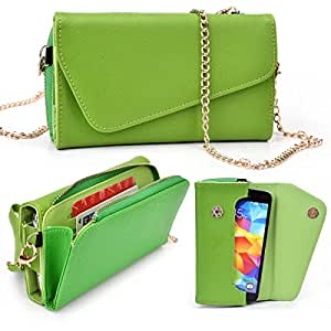 Samsung Galaxy Premier I9260 Two Tone Clutch with Shoulder Strap - More Colors Available!
