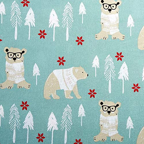 Your / Zone Cotton Flannel Sheet Set - Bear in The Woods - Queen -