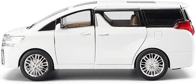 Poooc Modelo Aleación de Coches Proporción 1:32 Colección Diecast Réplica Vehículos de Juguete Sonido y luz y tirón Modelo Original Juguete vehículo Sonido y luz Seis Puertas QRFD: Amazon.es: Juguetes y juegos