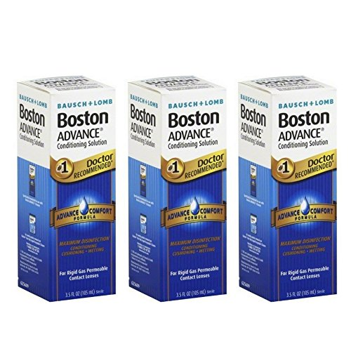 Bausch & Lomb Boston Advance Conditioning Solution 3.50 oz (Pack of 3) Boston Advance Comfort Formula