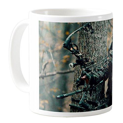 AquaSakura - Crossbow - 11oz Ceramic Coffee Mug Tea Cup