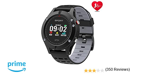Reloj inteligente, Reloj deportivo con altímetro/ barómetro /termómetro y GPS incorporado, rastreador de fitness para correr, senderismo y ...