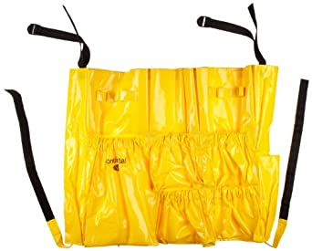 Continental 3175 Yellow Vinyl Huskee Caddy Bag