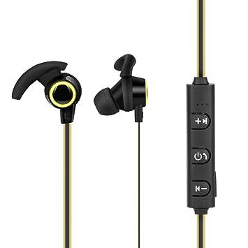 Auriculares inalámbricos Jimmkey Bluetooth 4.1, auriculares inalámbricos estéreo, auriculares intraurales, auriculares intraurales,