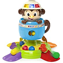 Bright Starts Baby Toy, Hide 'n Spin Monkey