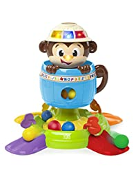 Bright Starts Baby Toy, Hide 'n Spin Monkey BOBEBE Online Baby Store From New York to Miami and Los Angeles