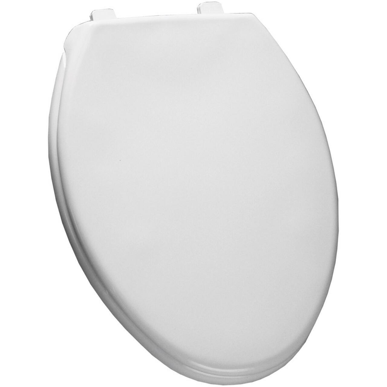 Church 380TCA 000 Elongated Toilet Seat with Cover, White