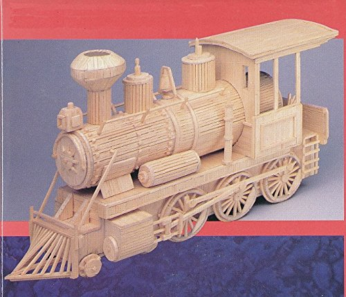WESTERN LOCO matchstick model Train construction kit - (Matchmakers Printed)
