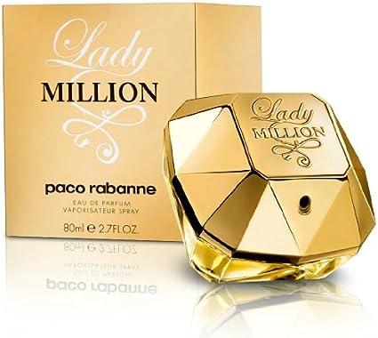 Perfume Mujer Paco Rabanne Lady Million 80 ml EDP 2,7 oz 80 ml Eau de Parfum