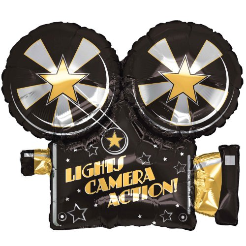 """Price comparison product image Betallic 85373P Lights Camera Action Balloon Pack, 32"""""""