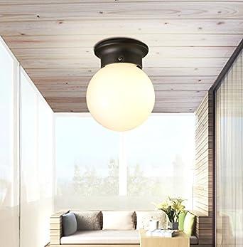 MF LOFT Die amerikanische Retro minimalistischen LED Deckenleuchte ...