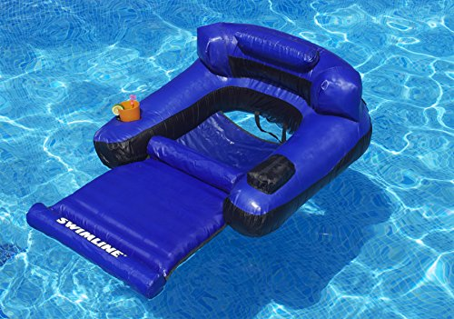 Amazon Swimline Floating Lounge Chair Toys Games