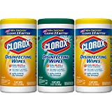 Clorox Disinfecting Wipes Value Pack, Crisp Lemon and Fresh Scent - 3 Pack - 75 Each