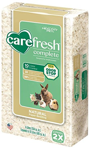 CareFresh Complete Natural Paper Bedding – White – 10 lt