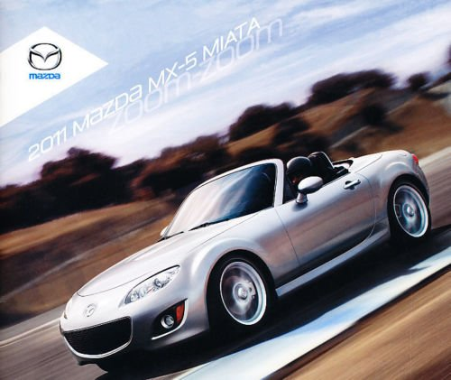 2011 Mazda Mx-5 Miata 24-page Original Dealer Sales Brochure