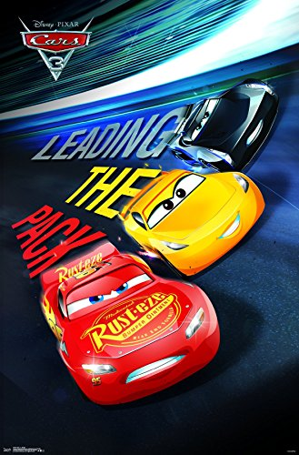 Trends International Disney Cars 3 Group Wall Poster 22.375""