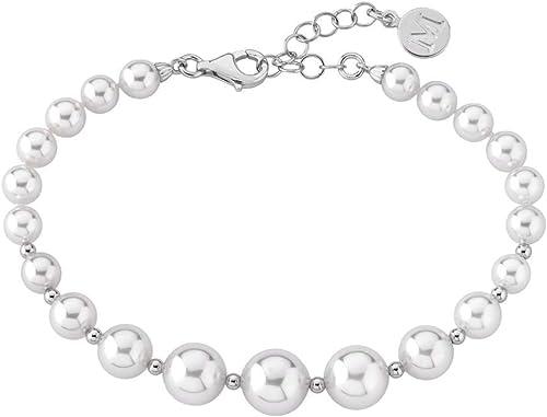 Marrimpouey- Pulsera de plata con perla