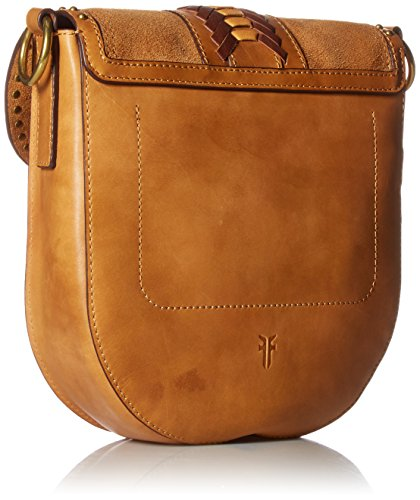 Ilana Western Bag Saddle FRYE Crossbody Brown Multi dCwn5Hqnp