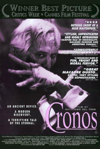 Amazon.com: Cronos Movie Poster (27 x 40 Inches - 69cm x 102cm) (1993)  -(Federico Luppi)(Ron Perlma)(Claudio Brook)(Margarita Isabel)(Tamara  Shanath)(Daniel Giménez Cacho): Prints: Posters & Prints