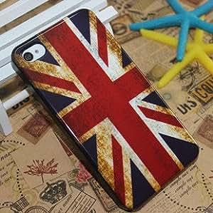 ModernGut Top Retro Flag Design case for iphone 4 fashion hard plastic back case for iphone 4g 10 pcs/lot