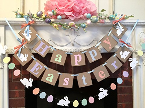 Easter Bunny Egg Garland