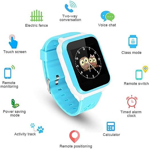 LayOPO Smartwatch para niños con rastreador GPS, Teléfono ...