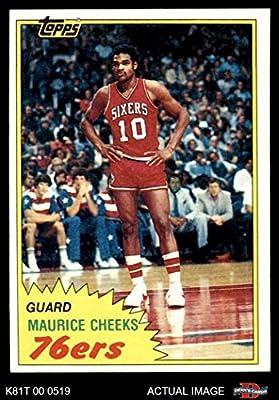 70dee57cb865 1981 Topps   90 E Maurice Cheeks Philadelphia 76ers (Basketball Card)  Dean s Cards 7 - NM 76ers