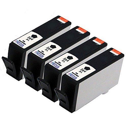 HOTCOLOR 4 Black Compatible Ink Cartridge combo set 4Pack...
