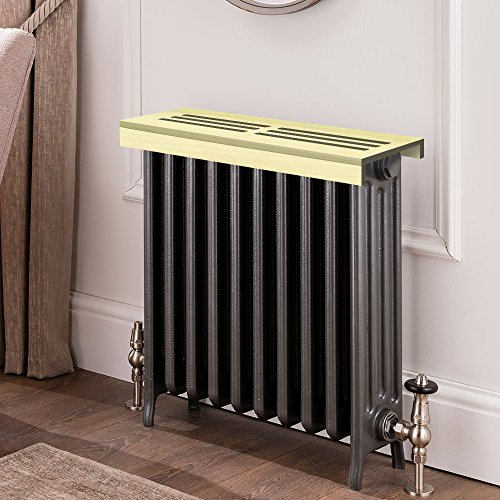 Unfinished poplar Wooden Radiator Cover Shelf, 40'' Width x 8'' Length x 3'' Height by handyct