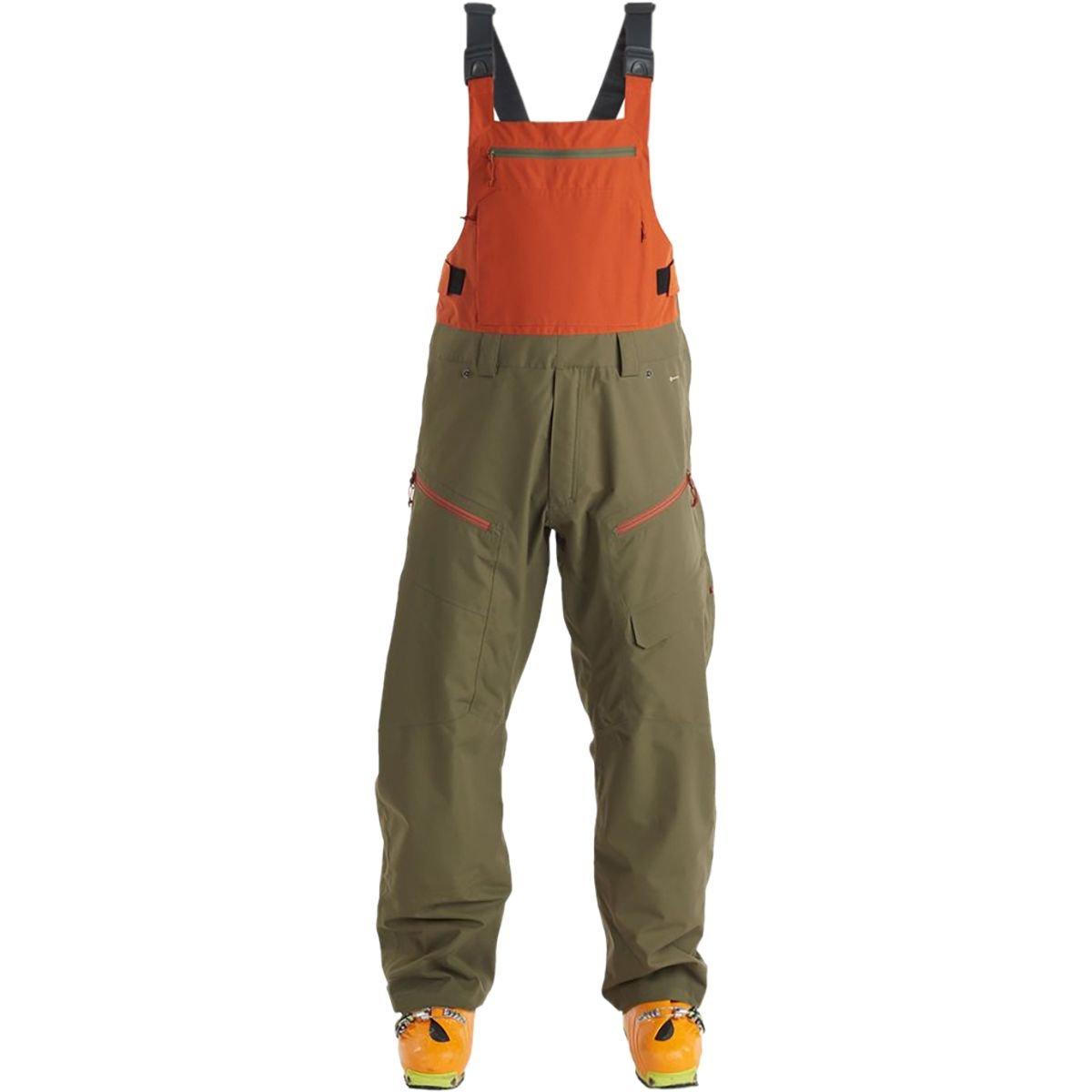 Flylow Gear Firebird Bib Pant – Men 's B075BHTZV8  Army/Rust L