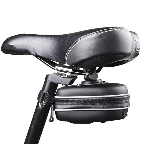 Zgsjbmh Bolsa Bicicleta EVA One Hard Shell Bolsa de sillín ...