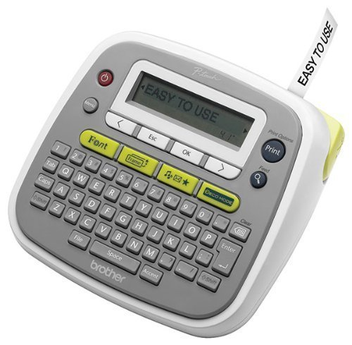 PT-D200 Easy-to-Use Label Maker. Features easy one-touch keys and graphical display. 8 fonts -