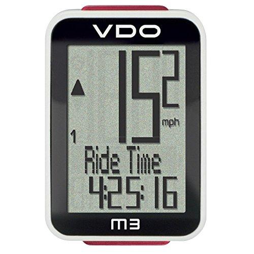 VDO M3 WR Fahrradcomputer Kabel schwarz schwarz Nicht zutreffend