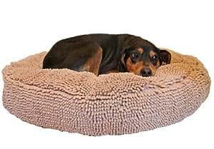 Soggy Doggy 24-Inch Super Snoozer Bed, Medium, Beige