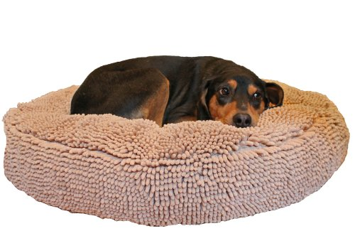 Soggy Doggy 36-Inch Super Snoozer Bed, Large, Beige by Soggy Doggy
