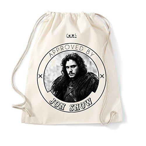 Cool and The Bag , Damen Rucksackhandtasche Beige natur 37X46cm